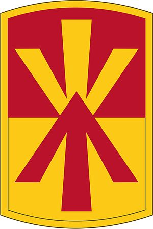 11th Air Defense Artillery Brigade (United States) - 11th ADA BDE Shoulder Sleeve Insignia