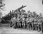 13 pounder 9 cwt AA gun and crew France Aug 1918 IWM Q 7159.jpg
