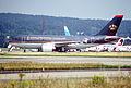 142ag - Royal Jordanian Airlines Airbus A310-304; F-ODVG@ZRH;31.07.2001 (5884247710).jpg