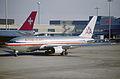 14ad - American Airlines Boeing 767-223ER; N327AA@ZRH;15.02.1998 (5531321557).jpg