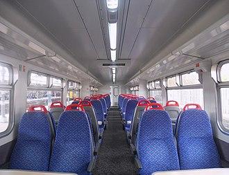 British Rail Class 156 - Image: 156402 Interior