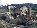 167 Ruïnes del monestir de Vallsanta (Guimerà), façana nord.jpg