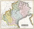 1814 Thomson Map of the Venetian States (Venice), Italy - Geographicus - VenetianStates-t-1814.jpg
