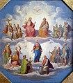 1850 Palme Die Heilige Dreifaltigkeit und Maria umgeben von den 14 Nothelfern Historisches Museum Bamberg anagoria.jpg