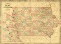 1864 Iowa & Nebraska Map (IA 1864JohnsonMapOfIowaComplete).pdf