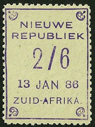Nieuwe Republiek - Image: 1886newrepublic 2sh 6p