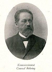 1893 verstorbener Kommerzienrat Conrad Bühring, Hannover, Portrait.jpg