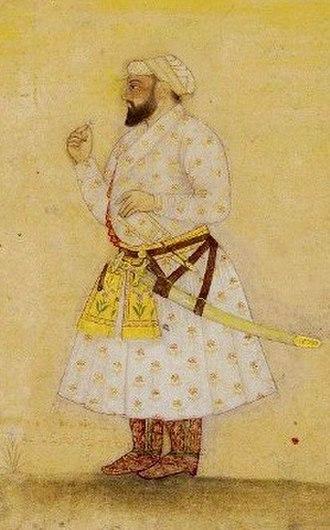 Guru Tegh Bahadur - Teg Bahadur according to an 18th-century painting