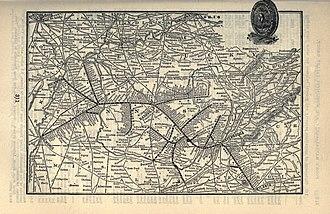Nashville, Chattanooga and St. Louis Railway - Image: 1903 Poor's Nashville, Chattanooga and St. Louis Railway