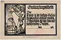 1916 circa Fred Hendriok, Entlausungsschein, Druck Armeezeitung A. O. K. 10, Deutsche Bücherei Leibzig, Deutsche Nationalbibliothek, Sammlung Erster Weltkrieg.jpg