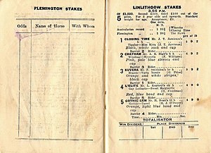 Linlithgow Stakes - The 1934 Linlithgow Stakes racebook