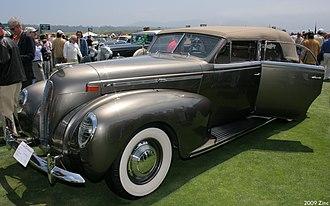 Briggs Manufacturing Company - 1938 Lincoln V12 by LeBaron and Briggs