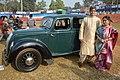 1939 Morris Eight - 8 hp - 4 cyl - WBA 6936 - Kolkata 2018-01-28 0731.JPG