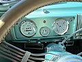 1940 DeSoto dashboard with Dolphin gauges 2010 Fall Classic Car Show Charlottesville VA October 2010.jpg