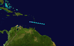 1948 Atlantic tropical storm 4 track.png
