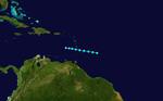 1948 Atlantischer Tropensturm 4 track.png