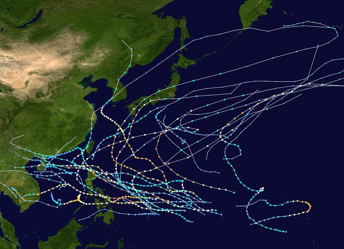 2018 Pacific typhoon season - Wikipedia