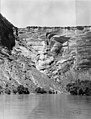 1953 Sierra Club Green River Canyon Trip. Sierra Club members in inflatable pontoon boatsrafts floating down Dinosaur National (3cc7165d71784efd85cd268057b1b91a).jpg