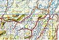 1955 (north), 1971 (south) one inch to one mile map Hangatiki - Waitomo.jpg
