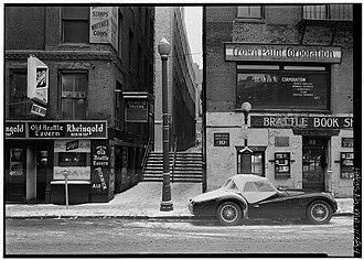 Brattle Street (Boston) - Image: 1962 Brattle St Boston by C Robinson HABS MA1138