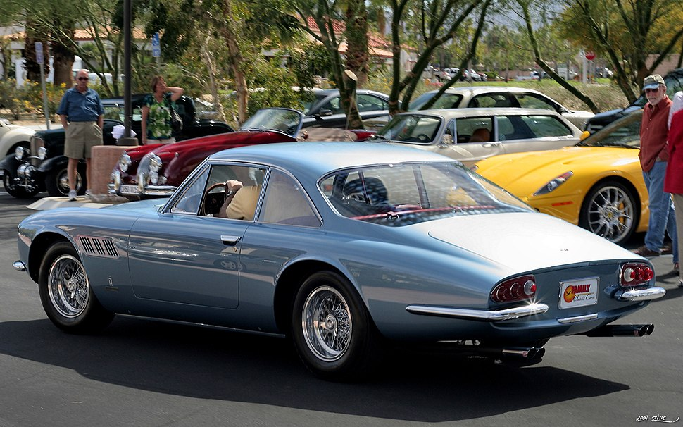 1965 Ferrari Superfast Coupe - blue - rvl
