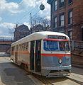 19660414 05 PAT PCC Streetcar, N. Charles St. @ Perrysville Ave. (7559216180).jpg