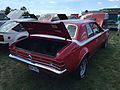 1971 AMC Hornet SC-360 compact muscle car in red at AMO 2015 meet 2of5.jpg
