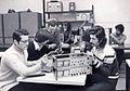 1979 Studenti an III de la Politehnica in laborator - Facultatea de Electronica.jpg