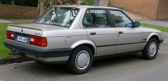 BMW 3 Series - BMW 318i sedan (Australia)