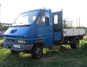Renault Master - 1992-1999 Renault Messenger B120 flatbed