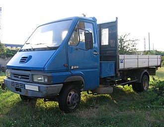 Renault Master - 1992–1999 Renault Messenger B120 flatbed