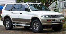 Mitsubishi challenger 2004