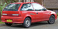 1998 Suzuki Swift Cino 3-door hatchback (2010-07-11) 02.jpg