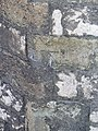1GL benchmark ^ bolt on Caernarfon Castle, Caernarfon - geograph.org.uk - 2054726.jpg