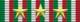 Medaglia commemorativa della guerra italo-austriaca 1915-1918 - tre anni di campagna - nastrino per uniforme ordinaria
