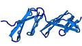 1fbr human fibronectin FourthAndFifthFibronectinTypeIModulePai.png