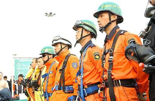 20031118서울특별시 양천구 목동 현대41타워 대형재난대비 긴급구조종합훈련 DSC 0138