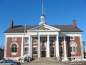 Stowe, Vermont - Stowe Town Hall, on Main Street