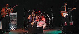 Yat-Kha - Yat-Kha playing live in Frankfurt am Main, Germany, October 13, 2005