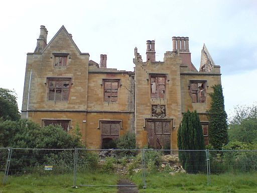 2007 May 26 - Nocton Hall Remains