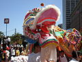 2008 Olympic Torch Relay in SF - Dragon dance 09.JPG