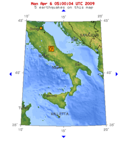 2009 Italy earthquake shake map.png