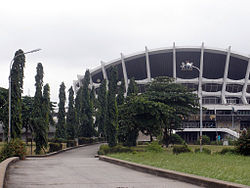 The National Arts Theatre a Landmark in Surulere