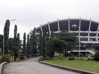 National Arts Theatre - Image: 2009 National Arts Theatre Lagos Nigeria 6350723082