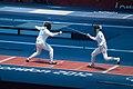 2012 Summer Olympics Fencing (7996940379).jpg