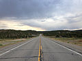 2014-07-18 19 25 37 View east along U.S. Route 6 about 28.8 miles east of the Nye County Line in White Pine County, Nevada.JPG