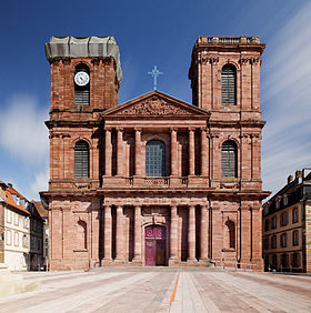 Image illustrative de l'article Cathédrale Saint-Christophe de Belfort
