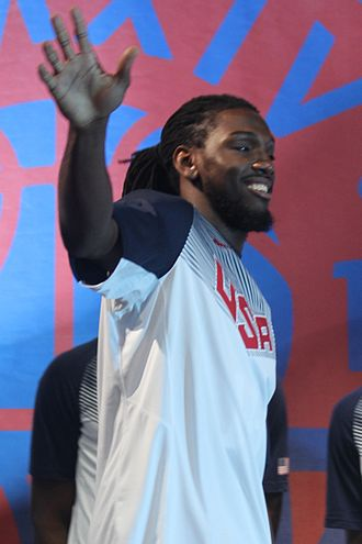 Kenneth Faried - Faried with Team USA at the 2014 World Basketball Festival