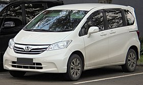 2014 Honda Freed 1.5 S van (GB3; 01-24-2019), South Tangerang.jpg