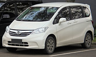 Honda Freed - Image: 2014 Honda Freed 1.5 S van (GB3; 01 24 2019), South Tangerang